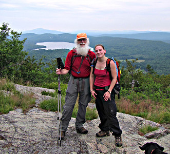 Ossipees: Banana Trail to Big Ball, Black Snoot and Mt. Shaw (July 7)