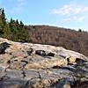 Looking ahead on the Lambert Ridge Trail