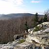 Looking south from Lambert Ridge.
