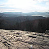 Looking east on the Lambert Ridge Trail.  Tenney and Plymouth Mtns. to the left of Newfound Lake.