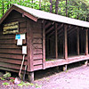 Rocky Branch Shelter No. 1.