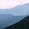 From the summit ledge of Stairs: closer view of Mt. Pickering and the Attitash ski slopes.