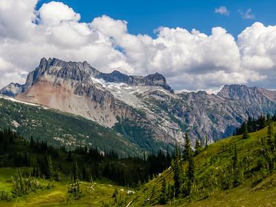 Bonanza Peak, the highest non-volcanic peak in the state.