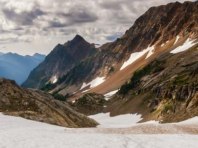 Ascending Spider Glacier
