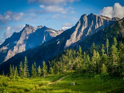 Buck Mountain and Chiwawa Ridge