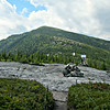 Upper end of Bicknell Ridge Trail, looking SW to North Baldface.