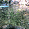 Emerald Pool in the morning - peaceful.