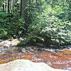 """""""May be difficult"""" crossing of Cascade Brook.  It was."""