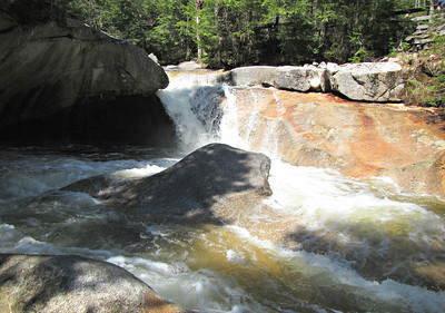 Franconia Notch Recreation Path - The Basin (May 17)