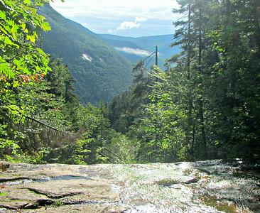 Kedron Flume  and Thoreau Falls - a Different Pemi Traverse (Aug. 23)