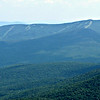 From the boulder just off the top of the Mahoosuc Arm climb,  SE to the ski slopes of Sunday River.