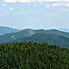 From the boulder just off the top of the Mahoosuc Arm climb, looking east, to Sunday River Whitecap.