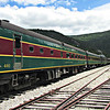 The Conway Scenic Railroad, at Crawford Notch Depot.