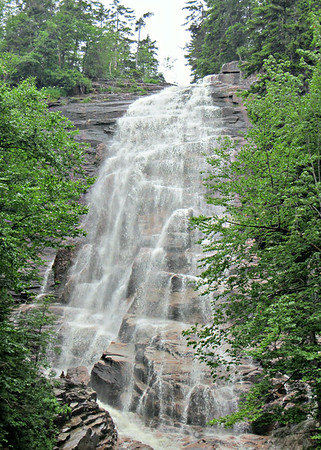 Pine Mtn. Trail; Arethusa Falls (July 4)