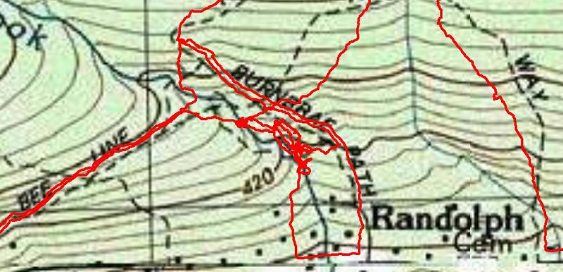 Mossy Glen trails blow-up.