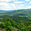 From Mt. Crag, SE over the Androscoggin River, to Evans Notch.