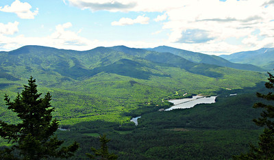 Shelburne, NH Loop - Gentian Pond/Dryad Falls/Dream Lake/Bald Cap Peak Ledges/Big Falls (June 7)