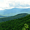 From a clearing on the Peabody Brook Trail - SW to the Presidentials