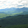 From Bald Cap Peak Ledge: SW to No. Carter (L) and the Presidentials, including Mt. Washington