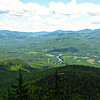 From Bald Cap Peak Ledge: SE over the Androscoggin to Evans Notch, including Speckled Mtn.