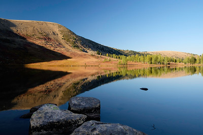 Corral Lake in the early morning.
