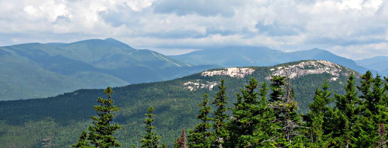 Sachem Ridge in foreground.