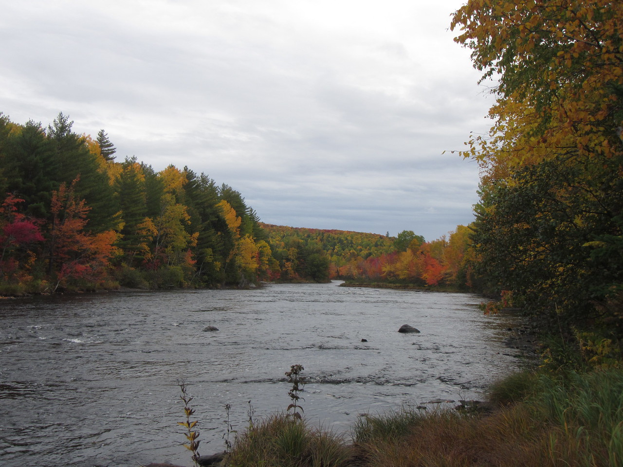 East Branch of the Penobscot, above Stair Falls.