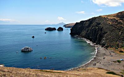 Channel Islands NP, Santa Cruz I., Scorpion Canyon Trails (May 7)