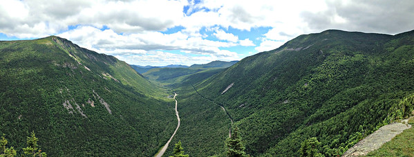 Crawford Notch Panorama.