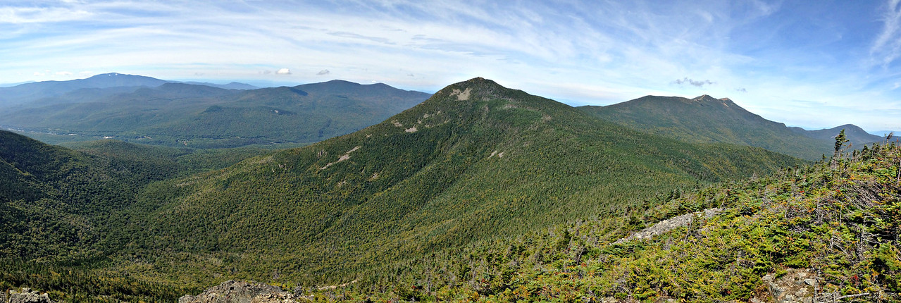 Looking north from Mt. Flume.- panorama