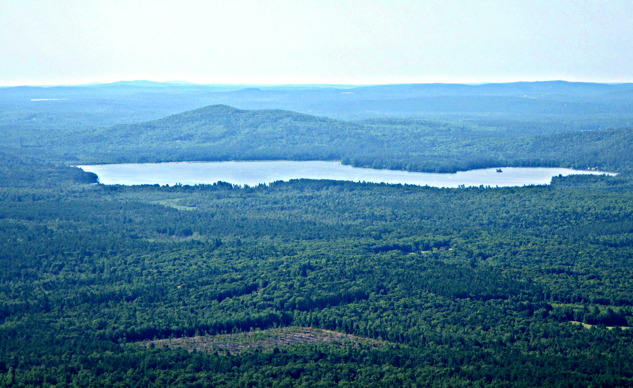 Province Lake and Mtn. from the Fire Tower.