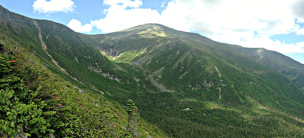 Mt. Washington, from halfway up Boott Spur Link.
