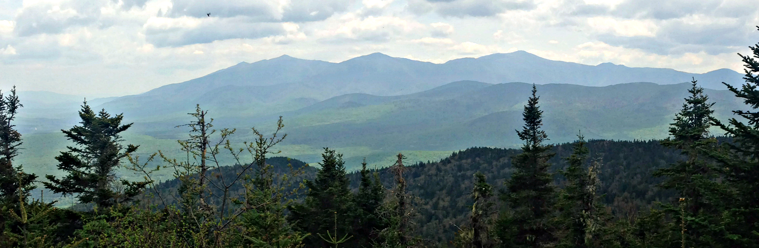 The Presidentials, from Mt. Martha.