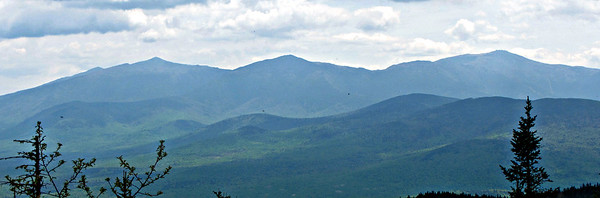 Presidentials from Mt. Martha.