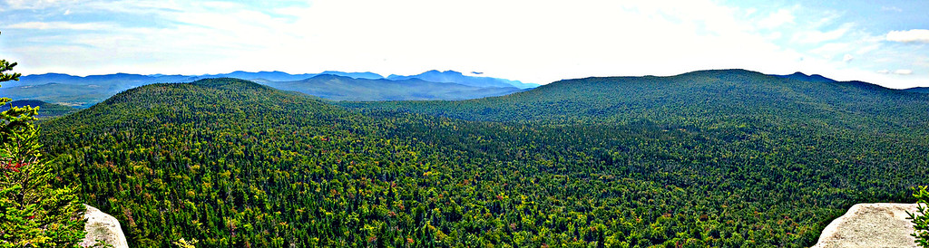 Panorama from Rogers Ledge.