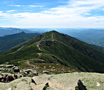 Looking south from Lafayette's summit.