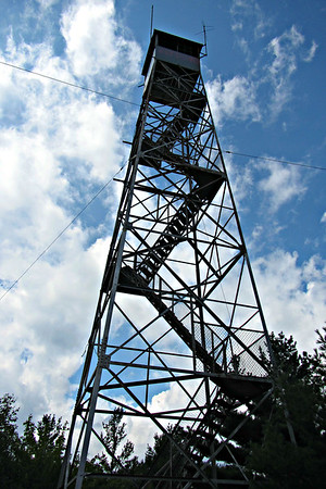 Maine Fire Towers - Zircon and Pisgah (August 20)