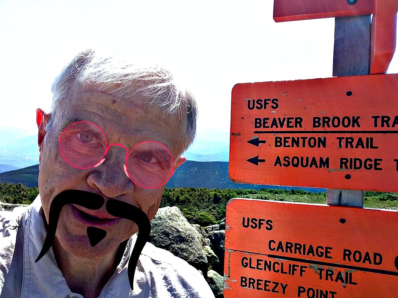 Summit selfie.