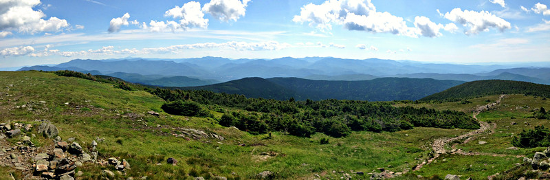 Moosilauke and Hurricane from Glencliff (July 1)