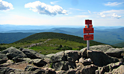 South from the summit.