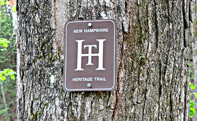 The NHHH dates from 1988 and aspires to traverse NH from Mass. to Canada.  It borrows a stretch of the Weeks Park Trails..