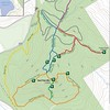 LELT Bald Pate Mtn. Preserve Trail Map, section.