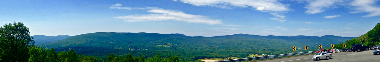 Mohawk Trail roadside vista.