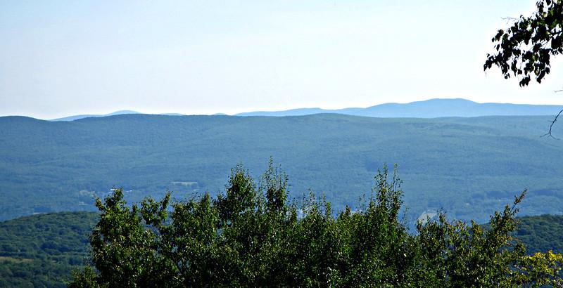 Looking NE to Vermont peaks.