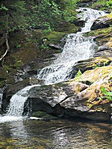 Upper Spur Brok cascade
