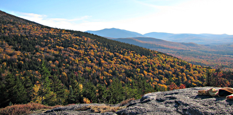 Looking south to Moosilauke from Bald Peak.