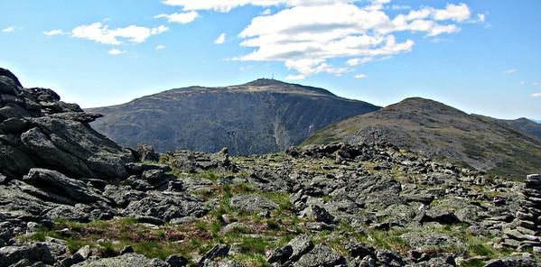 Ridge of the Caps  and the Cornice - Mt. Jefferson (June 18)