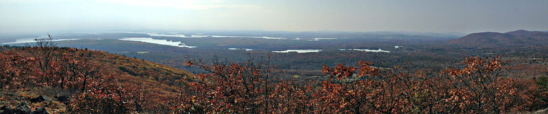 Winnepesaukee and Red Hill, from Roberts View spur.