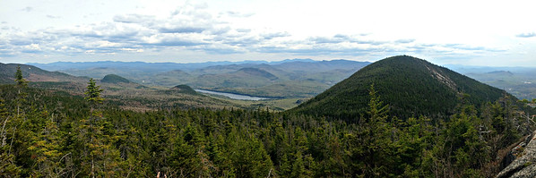 Looking south from No. Percy ledge.