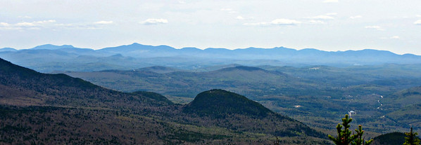 From the So. Percy  Spur, looking east to the Mahoosucs.